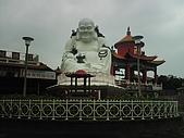 08-11-19基隆中正公園小遊:大佛禪寺大門口的彌勒佛像