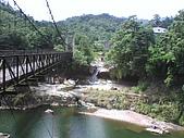 09-08-26平溪孝子山、嶺腳觀景亭、十分眼鏡洞:眼鏡洞瀑布和觀瀑吊橋