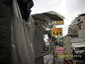 台北市大龍街79李男等惡鄰滋事相關照:延平北3段99巷吳男停車常人行道上的臭豆腐攤車