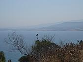 Tunisia-Tabarka(jazz concert):Tabarka Fort前的海景