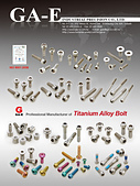 鋼義工業-電子型錄:Catalogue of Titanium alloy bolt form GA-E company 2011