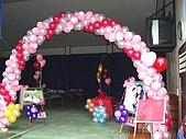 會場佈置:氣球拱門