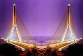 台灣之美:南二高高屏溪斜張橋夜景之ㄧ.jpg
