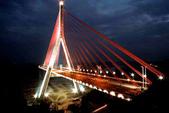 台灣之美:南二高高屏溪斜張橋夜景之三.jpg