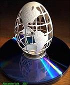 驚人的蛋雕amazing egg carvings/Carving egg shells:圖片16.jpg