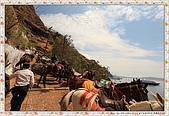 15-希臘Greece聖特里尼SANTORINI費拉碼頭騎驢爬懸崖:IMG_7343.jpg