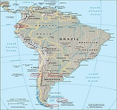 南極行_智利_阿雷納斯角:_A4南美洲地圖_圖片1.png