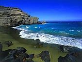 夏威夷全景 :圖片17-大島-綠灣,Green Beach, Big Island,.jpg