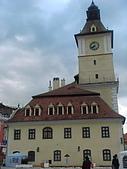 羅馬尼亞Romania_布拉索夫BRASOV古城:DSC02875羅馬尼亞_布拉索夫古城主廣場市政廳景緻.JPG