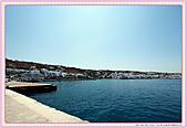 20-希臘Greece米克諾斯mykonos采風:希臘-米克諾斯Mykonos-從飯店俯瞰港灣全景IMG_9103.JPG