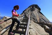 美國國家公園31天之旅紀實隨手拍搶先分享-2+好文章 :IMG_1645 MORO ROCK攻頂俯瞰內華達州山脈全景.JPG