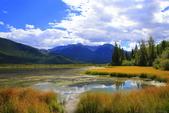 加拿大洛磯山脈19天度假自助遊-班夫鎮Banff Vermilion Lakes(硃砂湖):A81Q9075.JPG