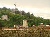 羅馬尼亞Romania_布拉索夫BRASOV古城:DSC02840羅馬尼亞_坐纜車上坦帕山俯瞰布拉索夫中古世紀古城