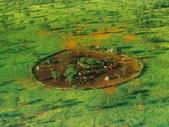 納米比亞 Namibia-辛巴族部落 The Himba Tribe:20-典型村寨空中鳥瞰場景--辛巴人家園.jpg