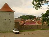 羅馬尼亞Romania_布拉索夫BRASOV古城:DSC02839羅馬尼亞_坐纜車上坦帕山俯瞰布拉索夫中古世紀古城