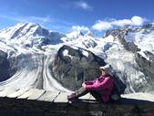 瑞士鐵道阿爾卑斯山漫遊12天之旅-6 高納葛拉特(Gornergrat)景觀台賞冰河:IMG_5001.JPG