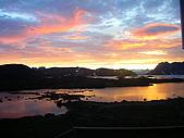 格陵蘭島的夕陽-GREENLAND:IMGP2404格陵蘭島GREENLAND-KULUSUK.JPG