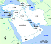 19-16敘利亞Syria-大馬士革DAMASCUS_伍馬岳清真寺:1-2以約敘黎塞中文地圖.gif