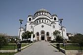 塞爾維亞SERBIA_貝爾格勒BELGRADE采風:_MG_5519貝爾格勒_聖沙瓦東正大教堂1935年建造.jpg