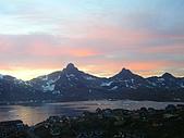 格陵蘭島的夕陽-GREENLAND:IMGP2468格陵蘭島GREENLAND-AMMASSALIK.JPG