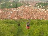 羅馬尼亞Romania_布拉索夫BRASOV古城:DSC02836羅馬尼亞_坐纜車上坦帕山俯瞰布拉索夫中古世紀古城