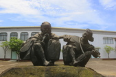 朱銘美術館 看雕塑 金山老街裡 吃鴨肉:A81Q1979.JPG