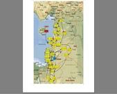 14-3約旦JORDAN-佩特拉PETRA玫瑰石頭古城燭光秀:1-1以約敘黎塞旅遊行程順序.jpg