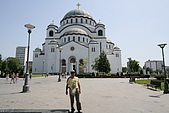 塞爾維亞SERBIA_貝爾格勒BELGRADE采風:_MG_5524貝爾格勒_聖沙瓦東正大教堂1935年建造.jpg