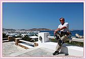 20-希臘Greece米克諾斯mykonos采風:希臘-米克諾斯Mykonos-從飯店俯瞰港灣全景IMG_9087.JPG