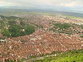 羅馬尼亞Romania_布拉索夫BRASOV古城:DSC02826羅馬尼亞_坐纜車上坦帕山俯瞰布拉索夫中古世紀古城