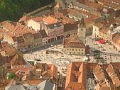羅馬尼亞Romania_布拉索夫BRASOV古城:DSC02821羅馬尼亞_坐纜車上坦帕山俯瞰布拉索夫中古世紀古城