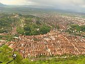 羅馬尼亞Romania_布拉索夫BRASOV古城:DSC02820羅馬尼亞_坐纜車上坦帕山俯瞰布拉索夫中古世紀古城