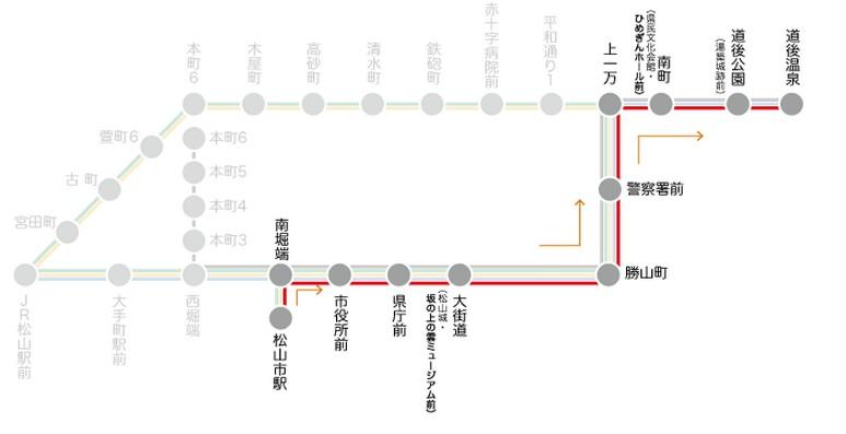 2014日本四國浪漫之旅DAY6松山城→道後溫泉周邊:3號線.jpg