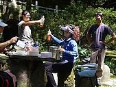 陽明山野餐踏青(20050917):好喝的錫蘭伯爵茶 乾杯啦~~