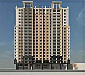 3D建築設計篇:文鼎大苑-南面俯視-1.jpg