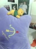 只有維尼:星型抱枕