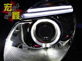 BENZ 賓士 W211 E-CLASS 大燈 改裝 F10 超亮光導光圈 導光條設計 HID 燈管:BENZ 賓士 W211 E-CLASS 大燈 改裝 F10 超亮光導光圈 導光條設計 HID 燈管 LED 小燈-10.jpg
