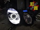 BENZ 賓士 W211 E-CLASS 大燈 改裝 F10 超亮光導光圈 導光條設計 HID 燈管:BENZ 賓士 W211 E-CLASS 大燈 改裝 F10 超亮光導光圈 導光條設計 HID 燈管 LED 小燈-6.jpg