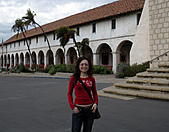 妹妹二零零九年元月來洛杉磯之旅:妹妹2009年一月攝於聖塔芭芭拉_5.jpg