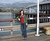 妹妹二零零九年元月來洛杉磯之旅:妹妹2009年一月攝於聖塔芭芭拉.jpg