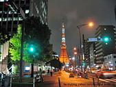 """東京:十字路口看""""東京鐵塔"""""""