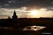 俄羅斯12日--莫斯科金環-札格爾斯克-蘇玆達里:蘇玆達里小鎮落日