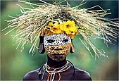 驚艷的非洲:走出非洲,令人難以置信的部落