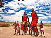 驚艷的非洲:馬賽勇士舞,肯亞