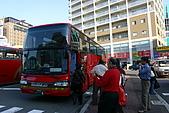 日本函館東北賞楓(三):來車站接我們的紅色遊覽車