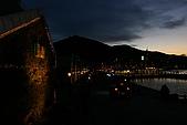 日本東北賞楓函館夜景(一):函館港邊金森紅磚倉庫群夜晚