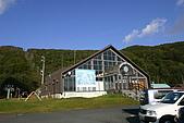 日本函館東北賞楓(三):滑雪場搭纜車的入口,要買票
