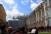 俄羅斯12日--凱撒琳宮:凱撒琳宮外排隊等進入