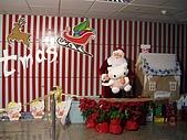 2007.12.22-26日本關西耶誕行:中正機場佈置