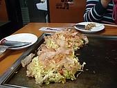 2007.12.22-26日本關西耶誕行:柴魚片在大阪燒上面跳舞~
